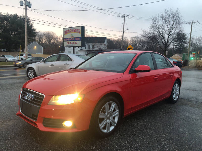 2010 Audi A4 for sale at Beachside Motors, Inc. in Ludlow MA