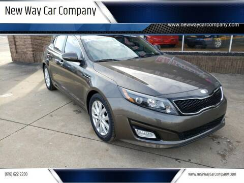 2014 Kia Optima for sale at New Way Car Company in Grand Rapids MI