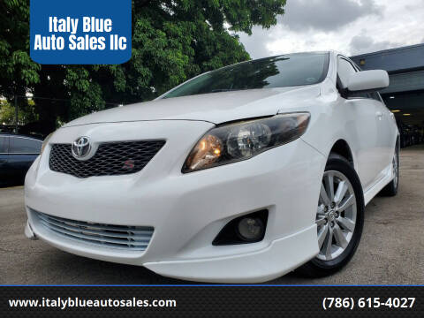 2010 Toyota Corolla for sale at Italy Blue Auto Sales llc in Miami FL