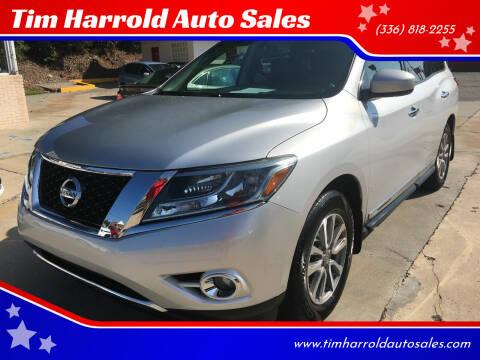 2013 Nissan Pathfinder for sale at Tim Harrold Auto Sales in Wilkesboro NC