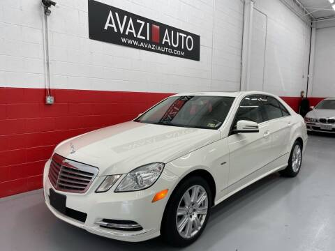 2012 Mercedes-Benz E-Class for sale at AVAZI AUTO GROUP LLC in Gaithersburg MD