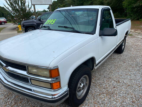 2000 Chevrolet C/K 3500 Series for sale at TOP OF THE LINE AUTO SALES in Fayetteville NC