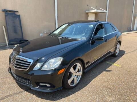 2011 Mercedes-Benz E-Class for sale at The Auto Toy Store in Robinsonville MS