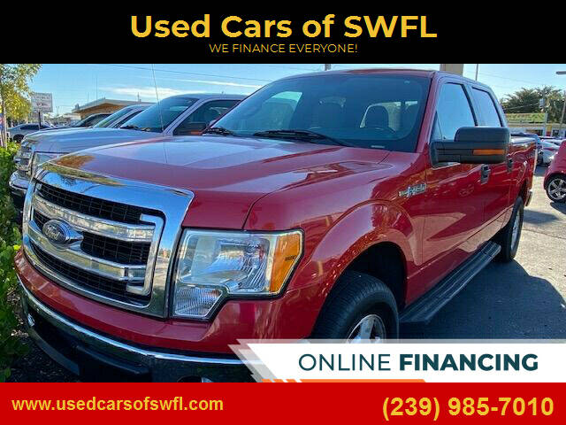 2013 Ford F-150 for sale at Used Cars of SWFL in Fort Myers FL
