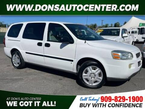2008 Chevrolet Uplander for sale at Dons Auto Center in Fontana CA