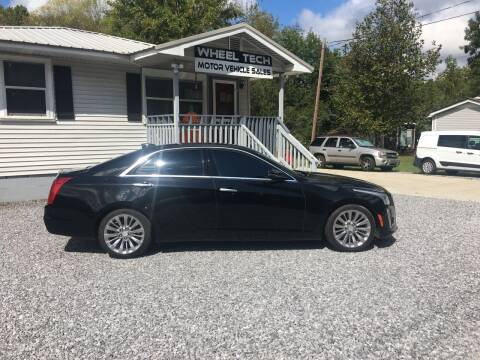 2015 Cadillac CTS for sale at Wheel Tech Motor Vehicle Sales in Maylene AL