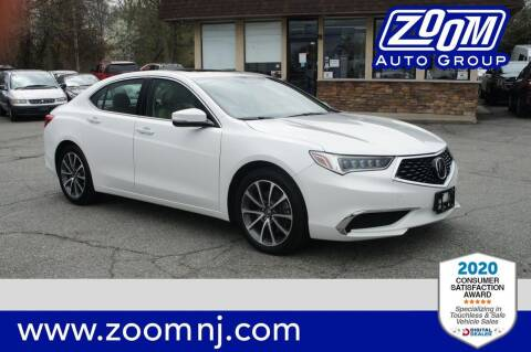 2019 Acura TLX for sale at Zoom Auto Group in Parsippany NJ