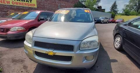 2007 Chevrolet Uplander for sale at Frankies Auto Sales in Detroit MI