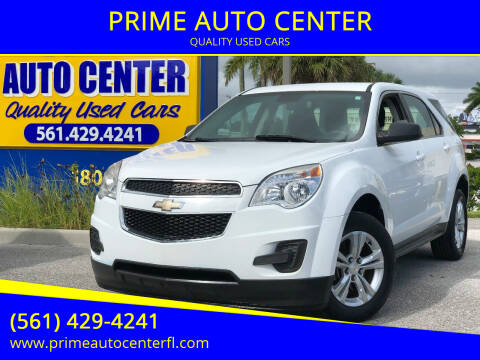 2014 Chevrolet Equinox for sale at PRIME AUTO CENTER in Palm Springs FL
