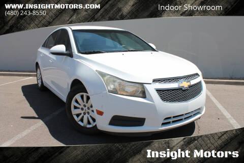 2011 Chevrolet Cruze for sale at Insight Motors in Tempe AZ