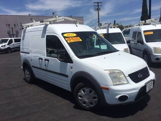 2013 Ford Transit Connect for sale at Auto Wholesale Company in Santa Ana CA
