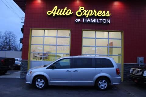 2012 Dodge Grand Caravan for sale at AUTO EXPRESS OF HAMILTON LLC in Hamilton OH