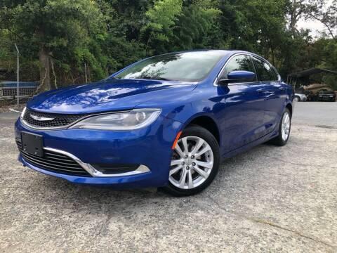 2015 Chrysler 200 for sale at Atlas Auto Sales in Smyrna GA
