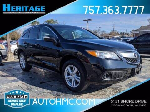 2015 Acura RDX for sale at Heritage Motor Company in Virginia Beach VA