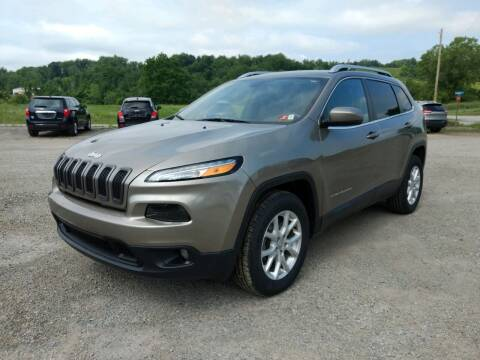 2016 Jeep Cherokee for sale at G & H Automotive in Mount Pleasant PA