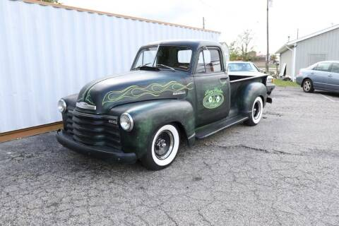 1952 Chevrolet C/K 10 Series for sale at Queen City Classics in West Chester OH