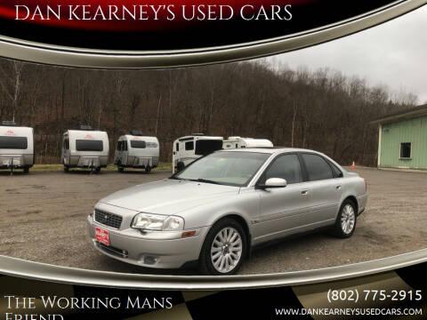 2006 Volvo S80 for sale at DAN KEARNEY'S USED CARS in Center Rutland VT