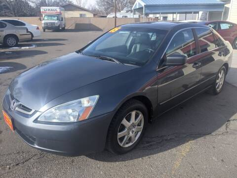 2005 Honda Accord for sale at Progressive Auto Sales in Twin Falls ID
