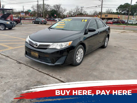 2014 Toyota Camry for sale at Northtown Auto Center in Houston TX