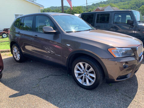 2013 BMW X3 for sale at MYERS PRE OWNED AUTOS & POWERSPORTS in Paden City WV