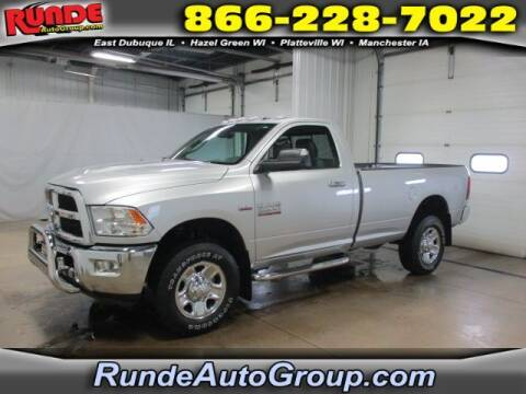 2015 RAM Ram Pickup 2500 for sale at Runde Chevrolet in East Dubuque IL