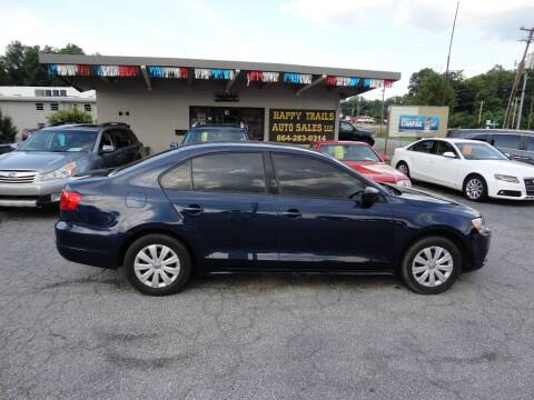 2014 Volkswagen Jetta for sale at HAPPY TRAILS AUTO SALES LLC in Taylors SC