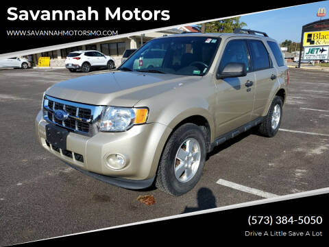 2011 Ford Escape for sale at Savannah Motors in Elsberry MO