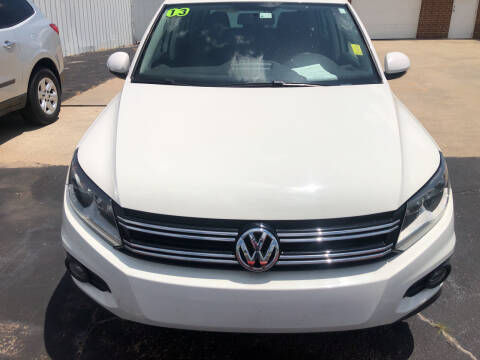 2013 Volkswagen Tiguan for sale at Moore Imports Auto in Moore OK