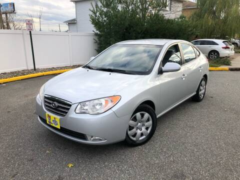 2008 Hyundai Elantra for sale at Giordano Auto Sales in Hasbrouck Heights NJ