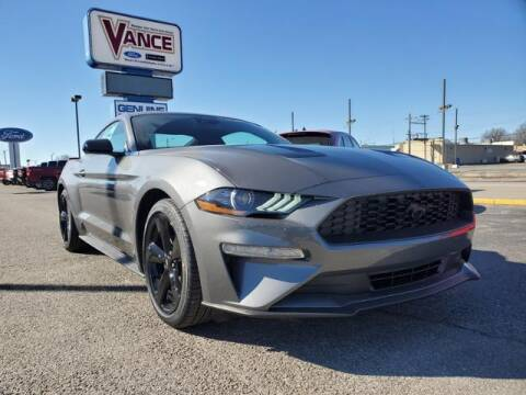 2021 Ford Mustang for sale at Vance Fleet Services in Guthrie OK