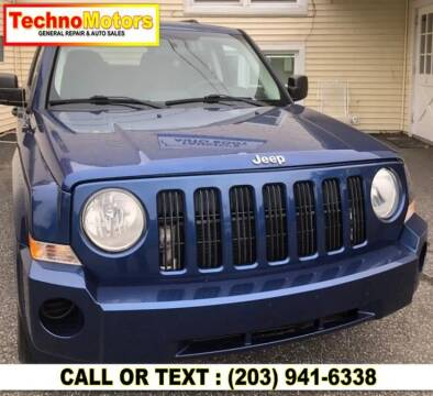 2009 Jeep Patriot for sale at Techno Motors in Danbury CT