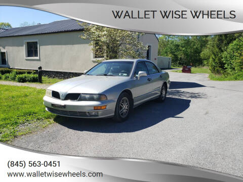 2003 Mitsubishi Diamante for sale at Wallet Wise Wheels in Montgomery NY