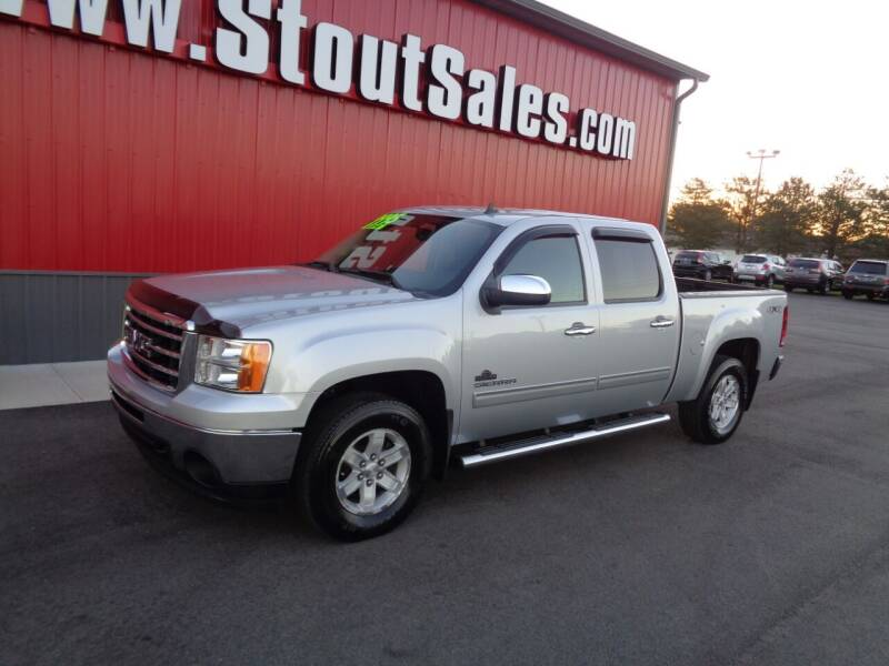 2013 GMC Sierra 1500 for sale at Stout Sales in Fairborn OH
