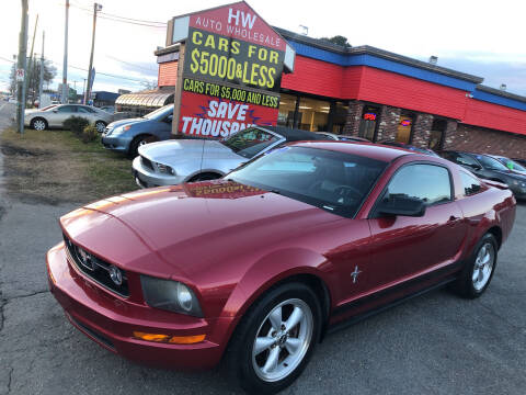 2007 Ford Mustang for sale at HW Auto Wholesale in Norfolk VA