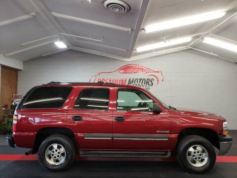 2002 Chevrolet Tahoe for sale at Premium Motors in Villa Park IL