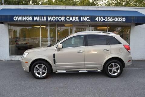 2009 Saturn Vue for sale at Owings Mills Motor Cars in Owings Mills MD