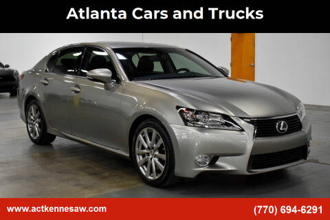 2015 Lexus GS 350 for sale at Atlanta Cars and Trucks in Kennesaw GA