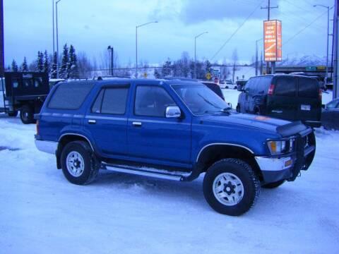 1991 Toyota 4Runner for sale at NORTHWEST AUTO SALES LLC in Anchorage AK