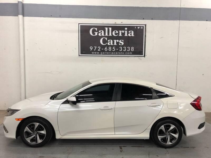 2019 Honda Civic for sale at Galleria Cars in Dallas TX