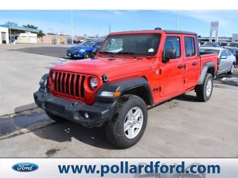 2020 Jeep Gladiator for sale at South Plains Autoplex by RANDY BUCHANAN in Lubbock TX