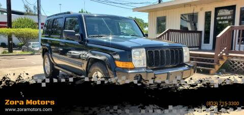 2006 Jeep Commander for sale at Zora Motors in Houston TX