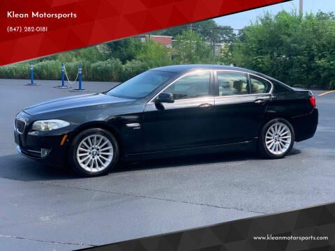 2011 BMW 5 Series for sale at Klean Motorsports in Skokie IL