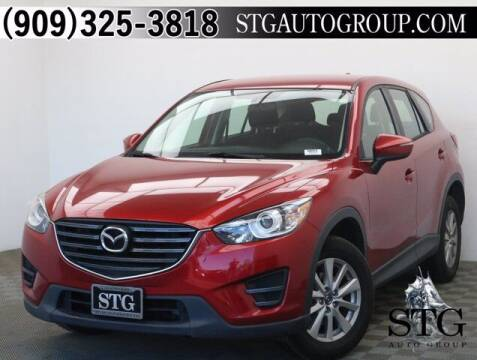 2016 Mazda CX-5 for sale at STG Auto Group in Montclair CA