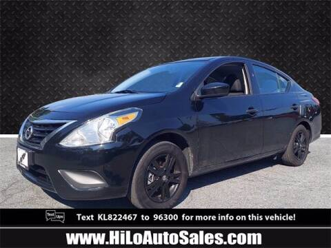 2019 Nissan Versa for sale at Hi-Lo Auto Sales in Frederick MD