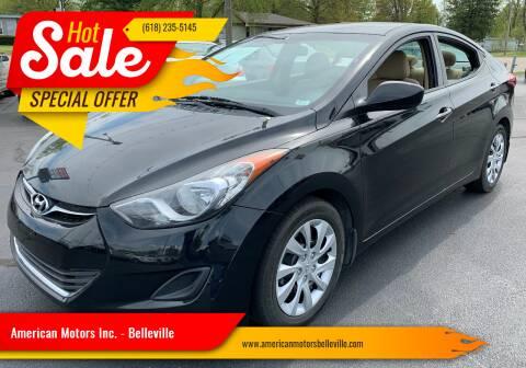 2013 Hyundai Elantra for sale at American Motors Inc. - Belleville in Belleville IL