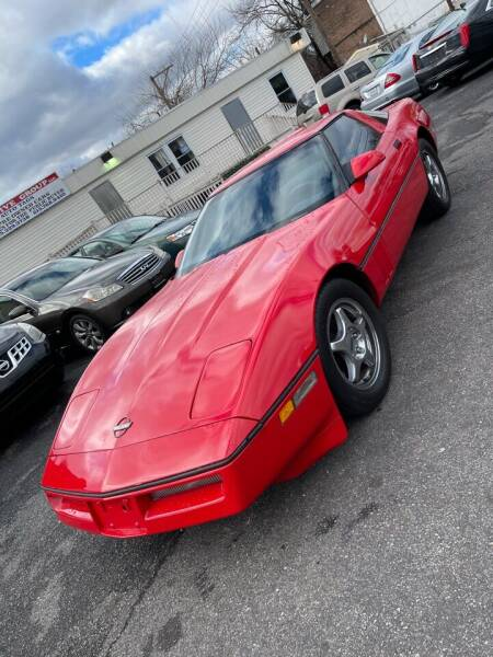 1986 Chevrolet Corvette for sale at GM Automotive Group in Philadelphia PA