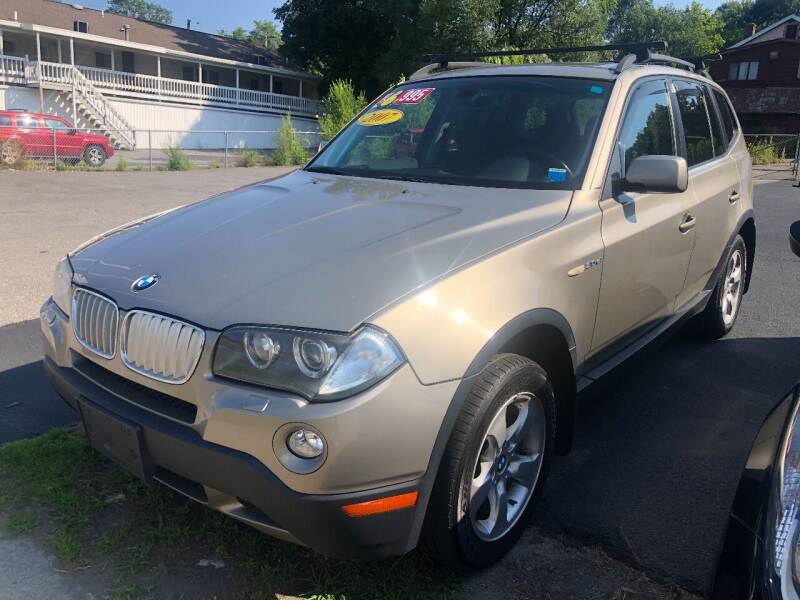 2007 BMW X3 for sale at JB Auto Sales in Schenectady NY