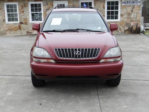 2000 Lexus RX 300 for sale at Flywheel Auto Sales Inc in Woodstock GA