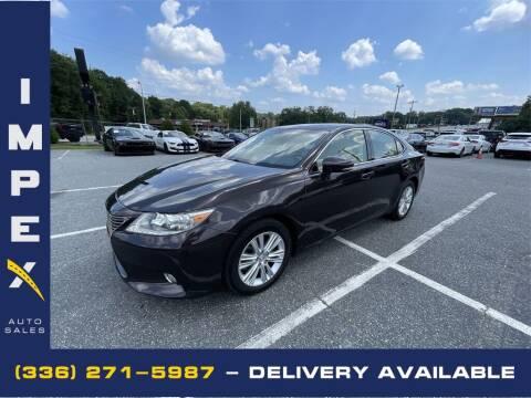 2013 Lexus ES 350 for sale at Impex Auto Sales in Greensboro NC