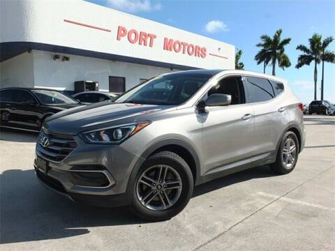 2017 Hyundai Santa Fe Sport for sale at Automotive Credit Union Services in West Palm Beach FL